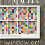 """Q"" is for Quilt Window"