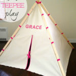 DIY Kids Play Teepee