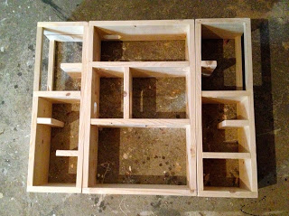 adding hinges to portable playhouse
