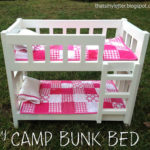 DIY Camp Bunk Bed for Dolls