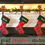 """""""P"""" is for Plaid Stockings"""