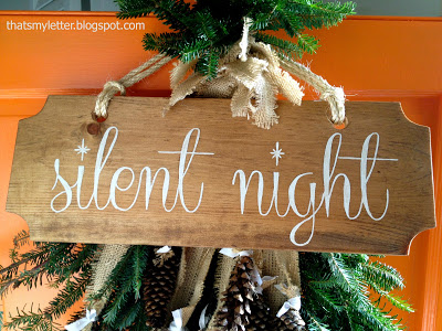 Quot S Quot Is For Silent Night Jaime Costiglio