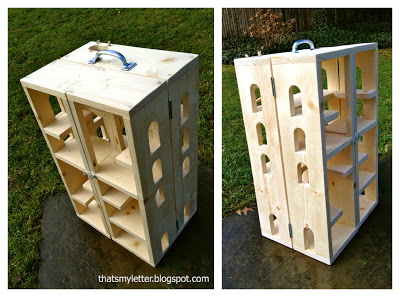 portable wood playhouse