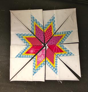 lone starburst pattern pieces