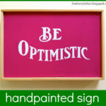 """O"" is for Optimistic"