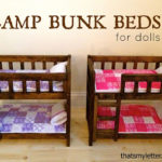 DIY Doll Size Camp Bunk Beds