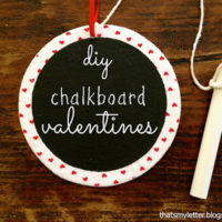 """C"" is for Chalkboard Valentines #2"