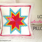 DIY Lone Starburst Paper Pieced Pillow