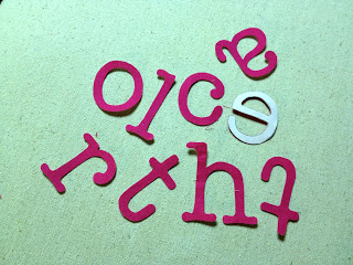 diy cotton fabric letters for monogramming