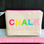 """C"" is for Chalk Pouch"