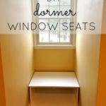 DIY Dormer Window Seats
