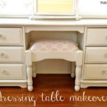 Refinished Kids Dressing Table