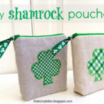 """S"" is for Shamrock Pouches"