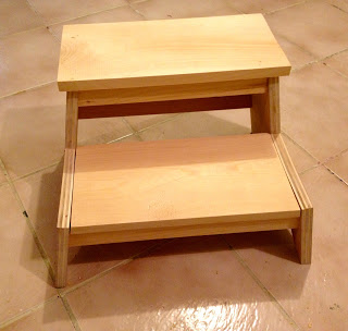 how to build a kids step stool