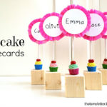 """C"" is for Cupcake Placecards"