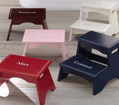 pottery barn kids step stool