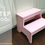 """K"" is for Kids Step Stool"