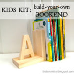 Build Your Own Kids Bookend Kit