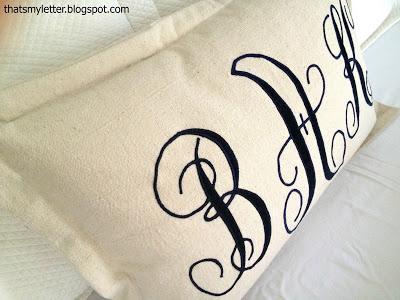 drop cloth lumbar pillow
