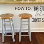 Bar Stools become Counter Stools