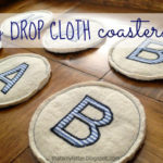 """D"" is for Drop Cloth Coasters"