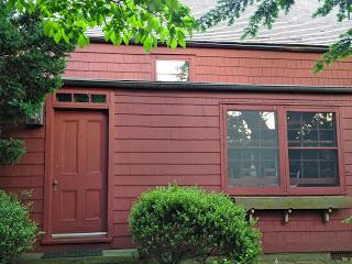 exterior back door