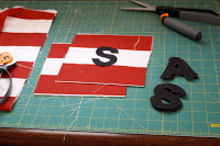 letters for beanbag fronts