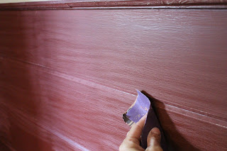 sand old semi gloss paint well