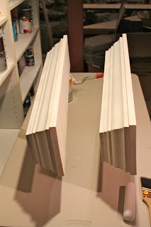 building crown molding ledges