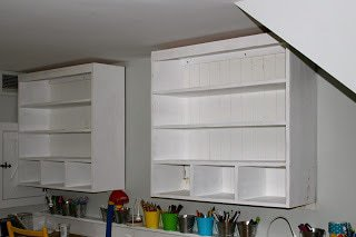 installing built in wall hutch