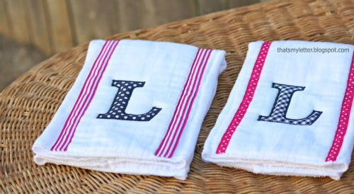 monogrammed cloth diapers