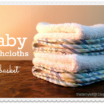 """""""B"""" is for Baby Washcloths"""