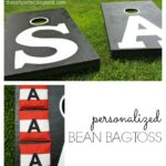 DIY Personalized Beanbag Toss