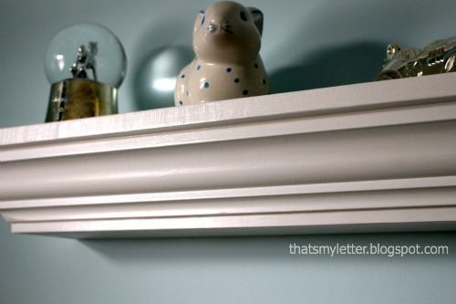 diy crown molding for ledges