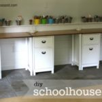 DIY Schoolhouse Desk