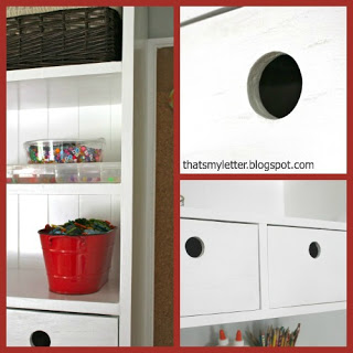 wall hutch drawers with finger pull