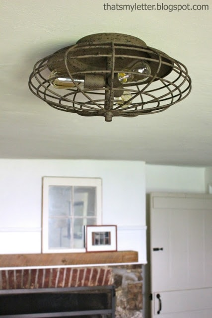 farmhouse dining room ceiling light fixture