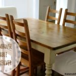 DIY Farmhouse Table Makeover