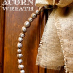 """A"" is for Acorn Wreath"