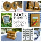 """B"" is for Book Themed Birthday Party"