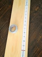 measure it tape on wood board