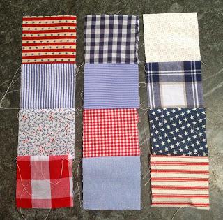 strip piecing quilt squares