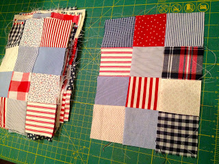 quilt blocks for old window
