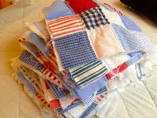 quilting the quilt blocks