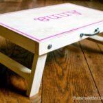 DIY Folding Desk