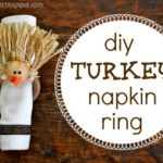 """T"" is for Turkey Napkin Rings"