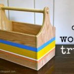 DIY Wood Trug