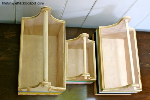 wood trug Interior space