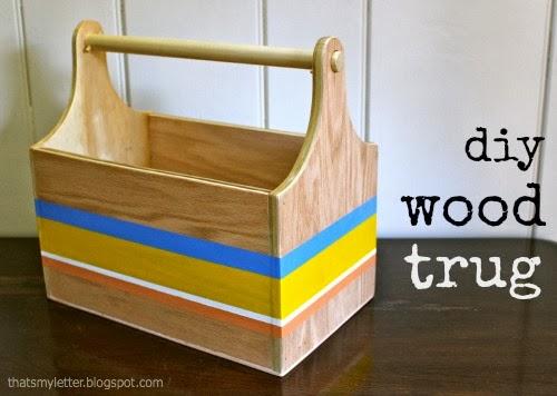 diy wood trug free plans