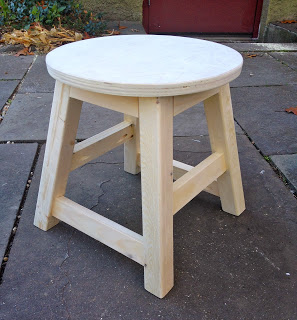 diy kids wood stool